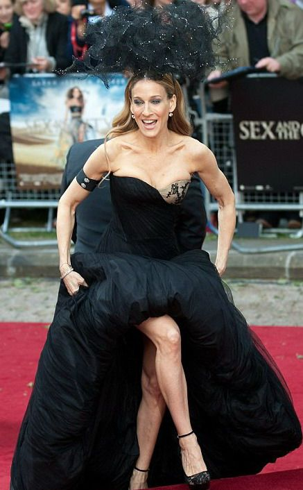 Sex and The City 2 il red carpet londinese con Sarah Jessica Parker