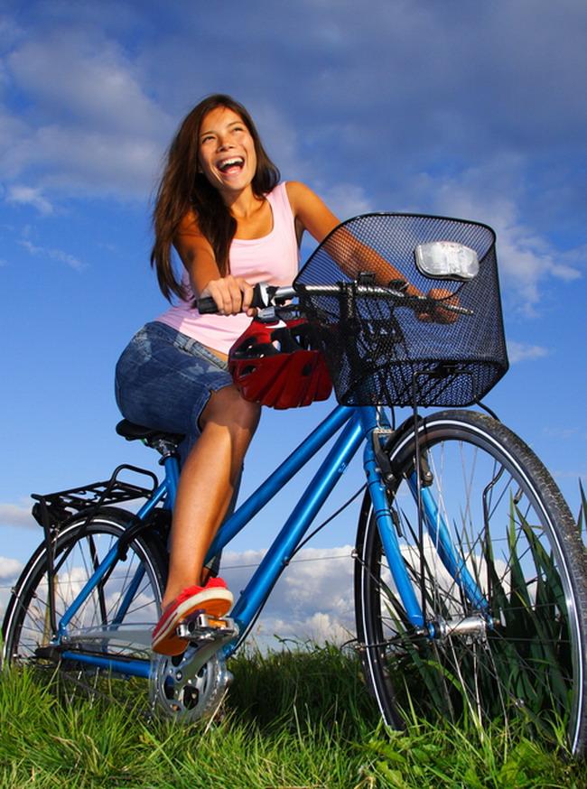 Slabit prin mers pe bicicleta?