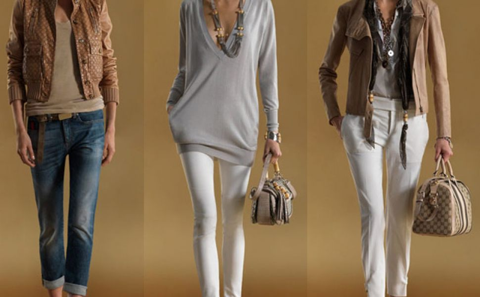 Uite ce tinute casual recomanda Gucci pentru primavara 2011