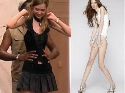 Really. happens. Aj america model next top