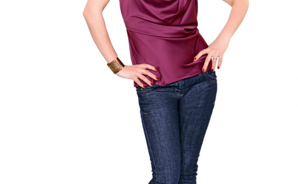 Olivia Steer, in forma maxima cu meniuri vegetariene