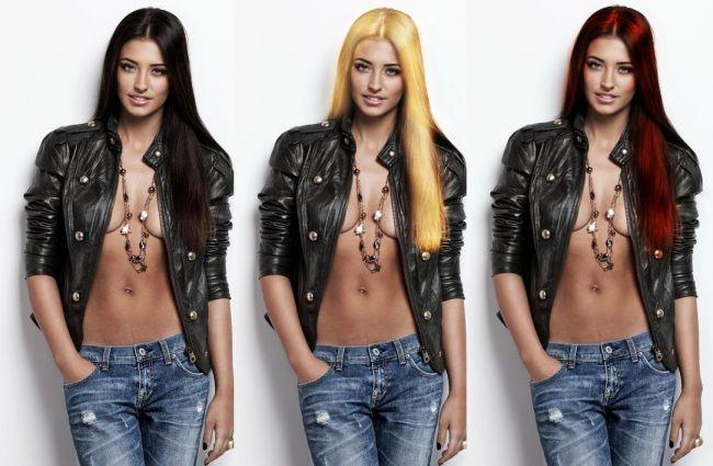 Antonia: Nu m-as vopsi niciodata blonda! Vezi cum i-ar sta mai bine: bruneta, blonda sau roscata!