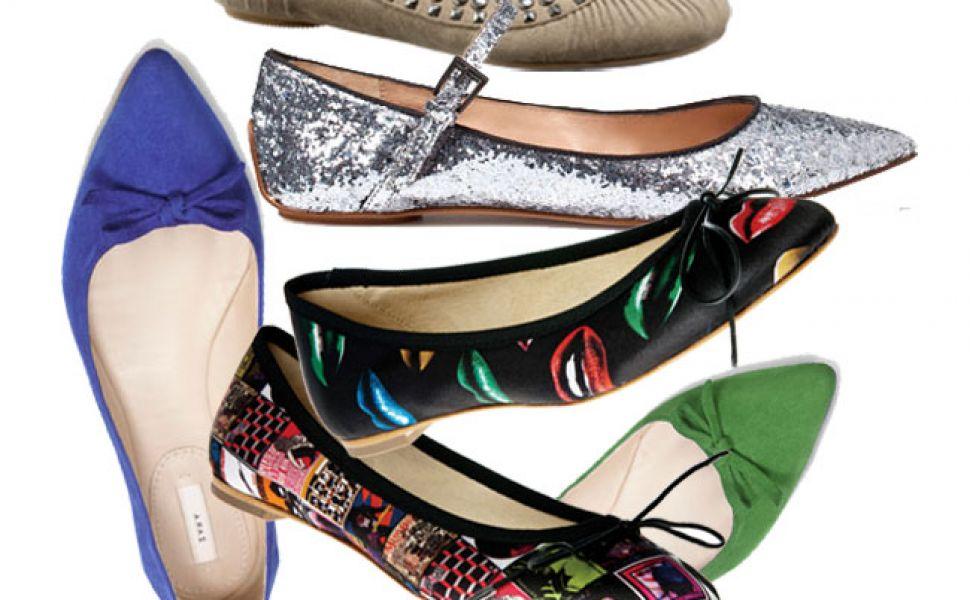 La shopping de balerini: super modele la preturi cuprinse intre 59 si 359 lei