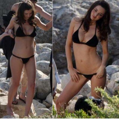 Miranda Kerr - prima oara in costum de baie dupa nastere FOTO