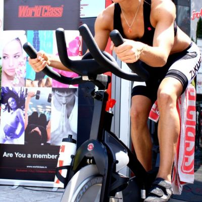 Disco cycling maraton in aer liber