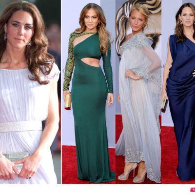 Eleganta princiara vs. Hollywood glam: cum s-au imbracat vedetele la intalnirea cu Kate Middleton