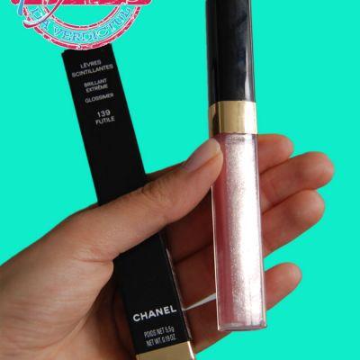 AM INCERCAT: Luciu de buze  Levres scintillantes  de la Chanel