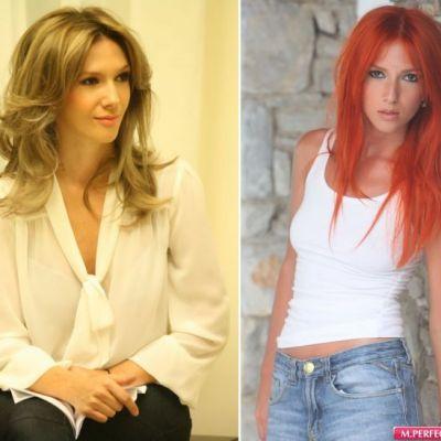 Adela Popescu - din nou blonda. Cum iti place mai mult?