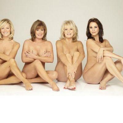 Femeile care sfideaza timpul. Au pozat goale la 54 de ani in afisul care a socat Marea Britanie