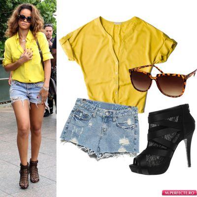 Outfit de vedeta: imbraca-te in culorile toamnei ca Rihanna