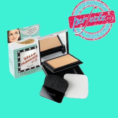 AM INCERCAT: Pudra Hello Flawless, de la Benefit