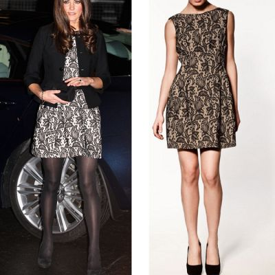Outfit de vedeta: Kate Middleton, intr-o rochie Zara. Vezi cat costa