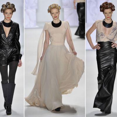 Stephan Pelger si-a prezentat colectia de toamna-iarna 2012 la Berlin Fashion Week FOTO