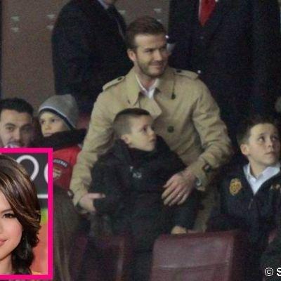 Brooklyn, Romeo si Cruz au intalnit-o pe preferata lor, Selena Gomez