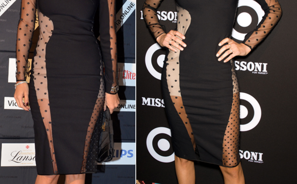 Andreea Raicu, in aceeasi rochie cu ingerasul Victoria s Secret, Doutzen Kroes. Care o poarta mai bine?