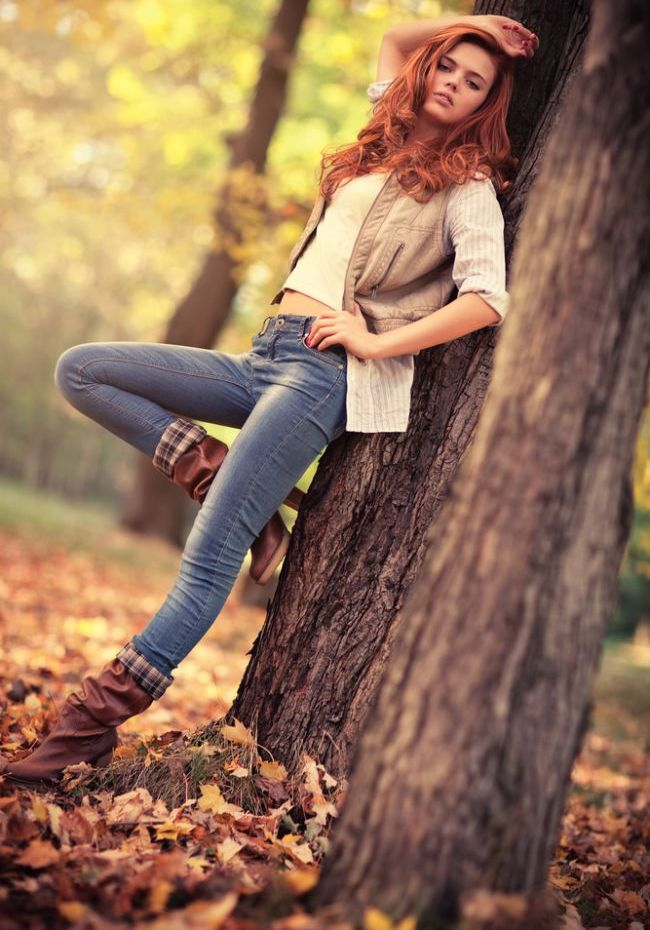 Идеи для фото на природе осенью