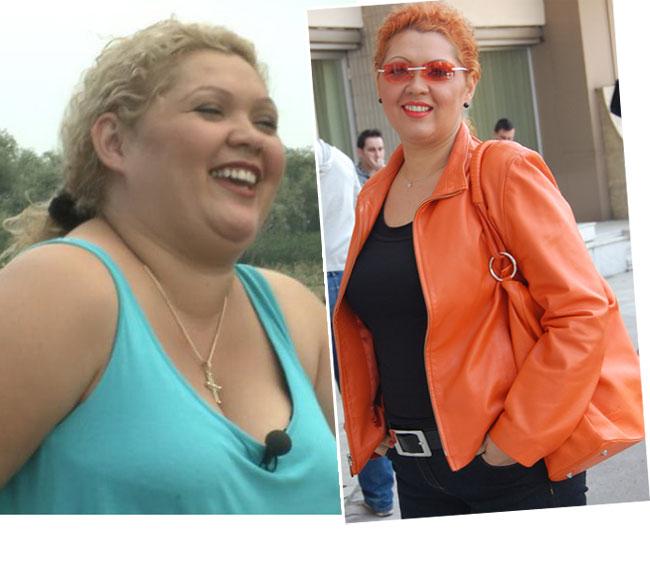 Transformare absolut incredibila! Vezi cum arata Minodora dupa ce a slabit 20 de kg si afla-i dieta