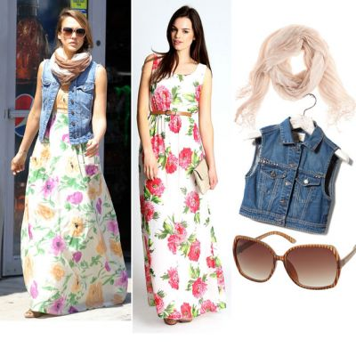 Outfit de vedeta: tinuta de primavara perfecta, inspirata din stilul Jessicai Alba