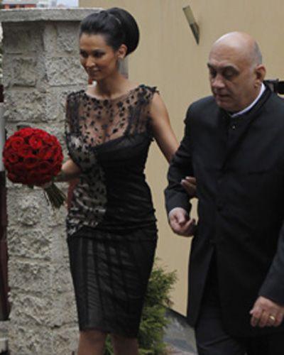 Imagini exclusive cu Nicoleta Luciu la cununia civila! Uite ce rochie a purtat!