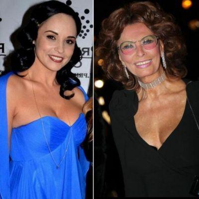 Andreea Marin Banica se va intalni cu Sophia Loren la Marsilia:  Sophia e intruchiparea feminitatii si nu are varsta