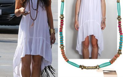Outfit de vedeta: inspira-te din stilul boho-chic al Vanessei Hudgens