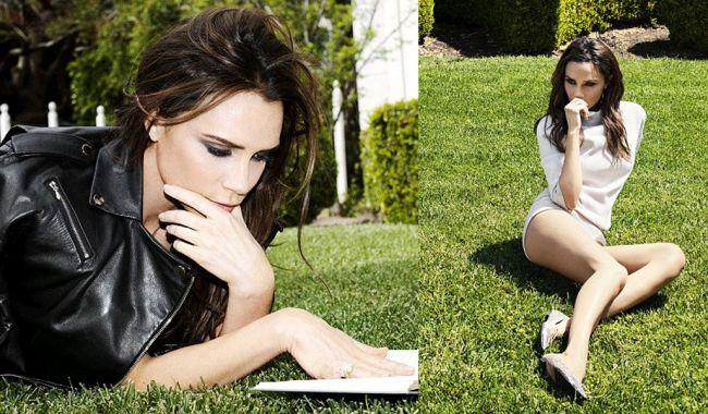Mereu incruntata, Victoria Beckham a dezvaluit intr-un interviu de ce nu zambeste niciodata in poze