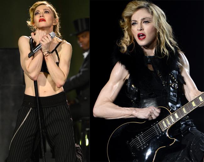 Madonna si-a pierdut orice urma de feminitate. Imaginile care dovdesc ca s-a transformat intr-o culturista veritabila