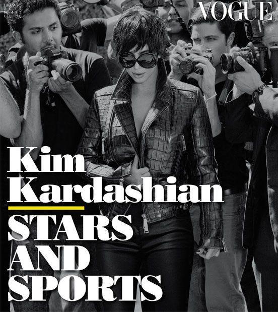 Kim Kardashian, la prima aparitie in Vogue: un look masculin si cel mai sincer interviu din viata ei. Vezi ce zice despre Kanye, sex si averea familiei