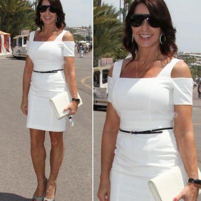 La 50 de ani arata spectaculos! Nadia Comaneci a impresionat la Cannes intr-o rochie sexy alba