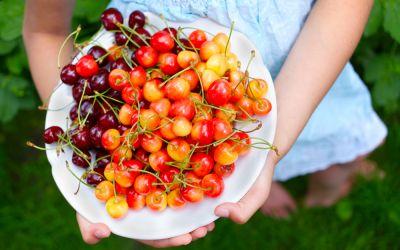 Care sunt beneficiile consumului de cirese pentru un copil