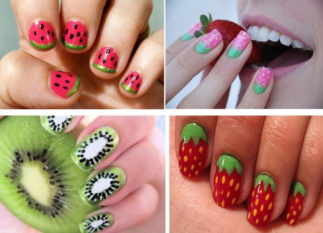 Cum sa iti desenezi unghiile cu...fructe de vara, legume sau buburuze VIDEO