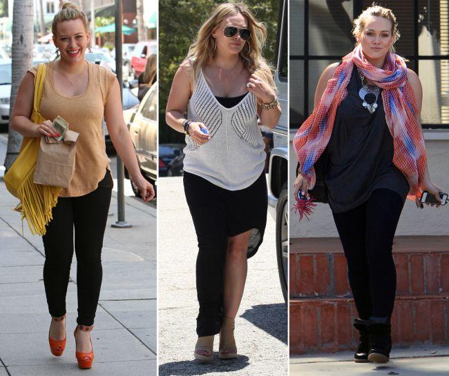 Invata de la Hilary Duff cum sa-ti maschezi kilogramele in plus!
