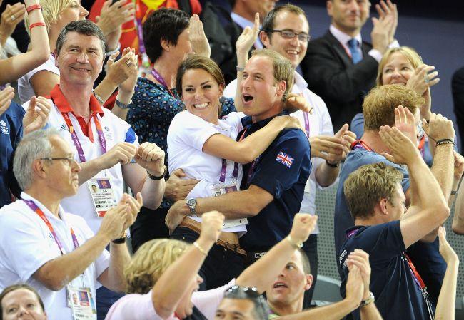 Kate Middleton si Printul William, un cuplu superb la Olimpiada. Uite cum s-au bucurat in timpul competitiilor