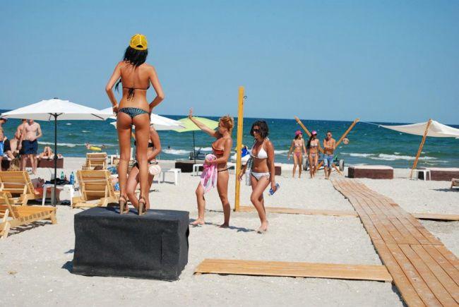 Turismo en Constanza Rumania Mamaia Beach