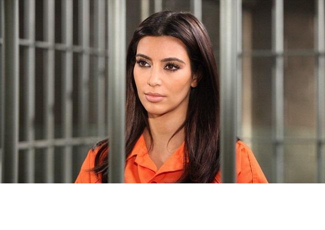 Kim Kardashian, la inchisoare! Ce a facut vedeta de a ajuns in spatele gratiilor