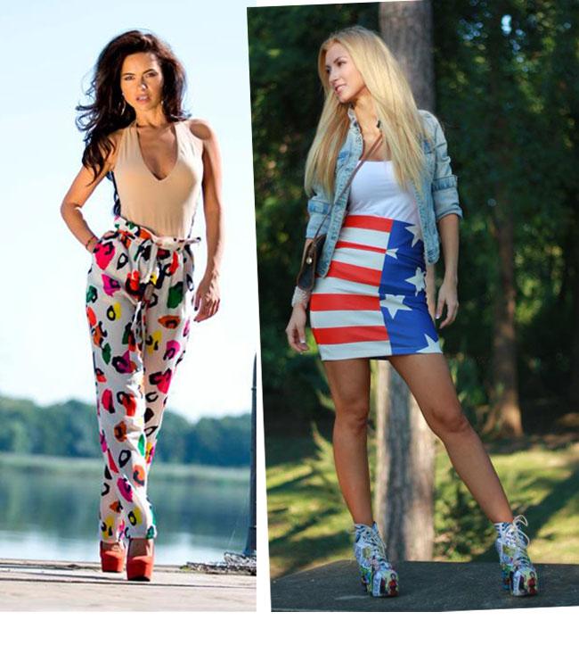 Inna vs. Andreea Balan. Care e mai sexy intr-un outfit de zi?