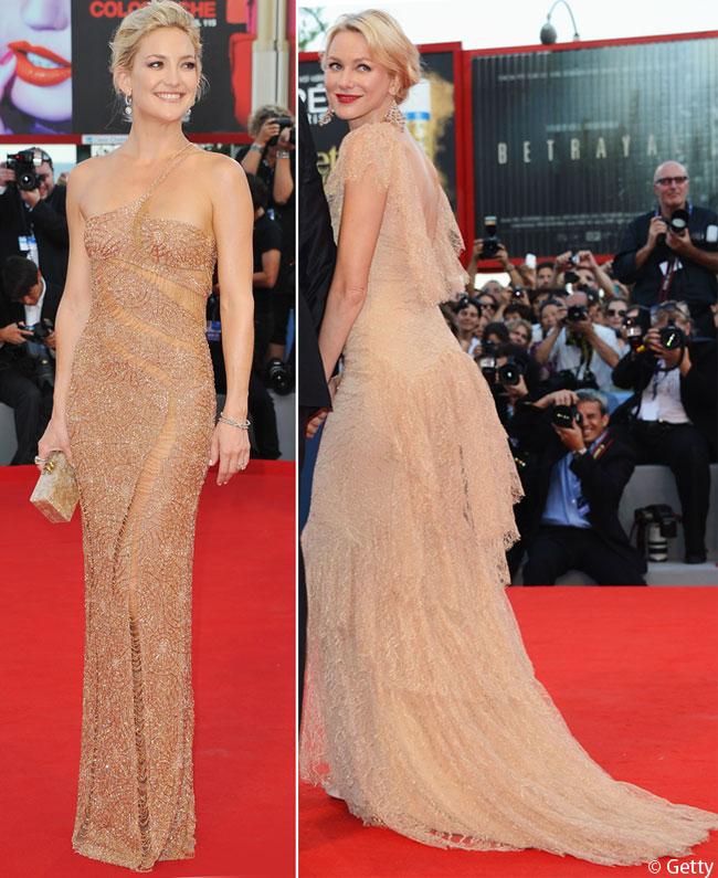 Primele aparitii de la Festivalul de film de la Venetia. Naomi Watts si Kate Hudson au intors toate privirile