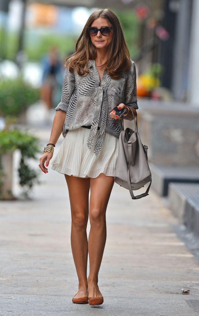 Look-ul zilei: Olivia Palermo este adepta stilului sexy casual