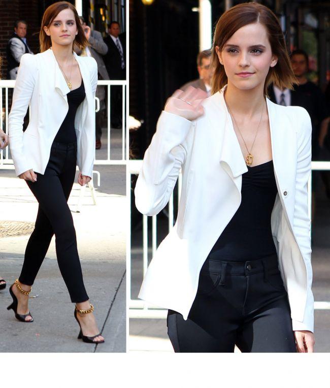 Si frumoasa, si desteapta, si stilata. Emma Watson este deja un etalon pentru fashionistele din intreaga lume