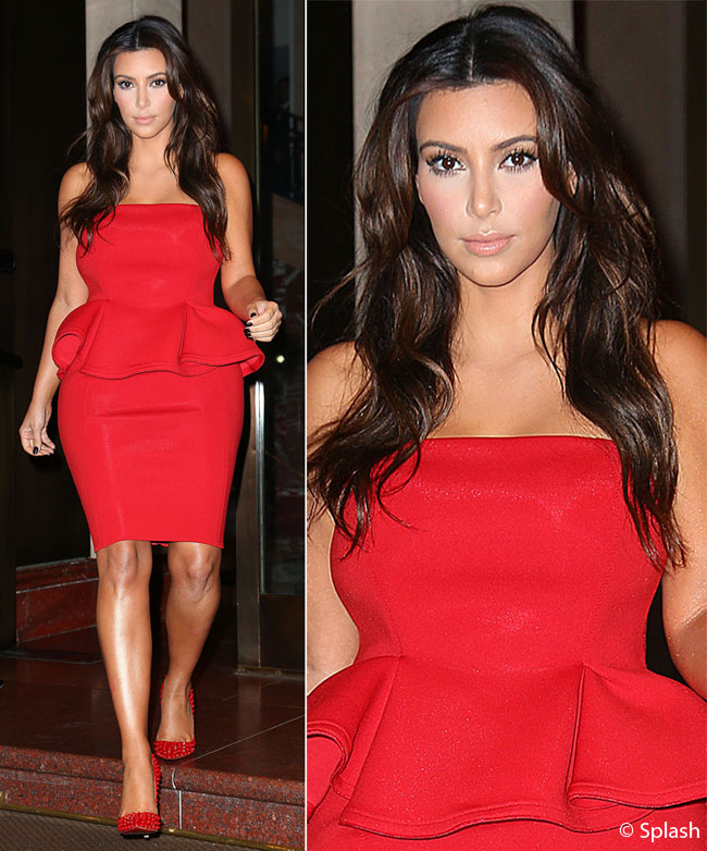 Kim Kardashian, sexy lady in red. Vezi ce dezvaluiri surprinzatoare a facut despre relatia cu Kanye West