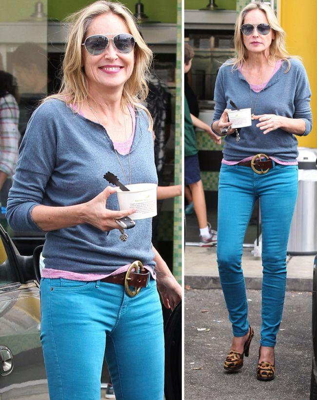 Sharon Stone este forma maxima la 54 de ani! Vezi care sunt secretele look-ului ei