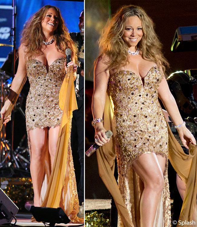 Mariah Carey si-a aratat formele voluptoase pe scena. Vezi cat de tonifiat este corpul ei dupa ce a slabit peste 30 de kilograme