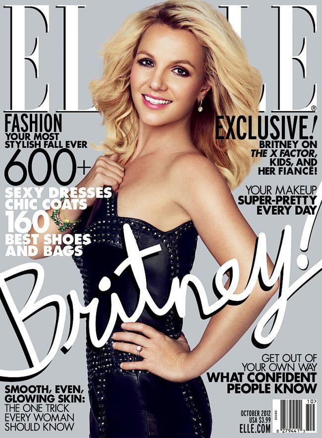 Photoshop-ul este cel mai bun prieten al lui Britney Spears. A aparut mai modificata ca niciodata pe coperta revistei Elle