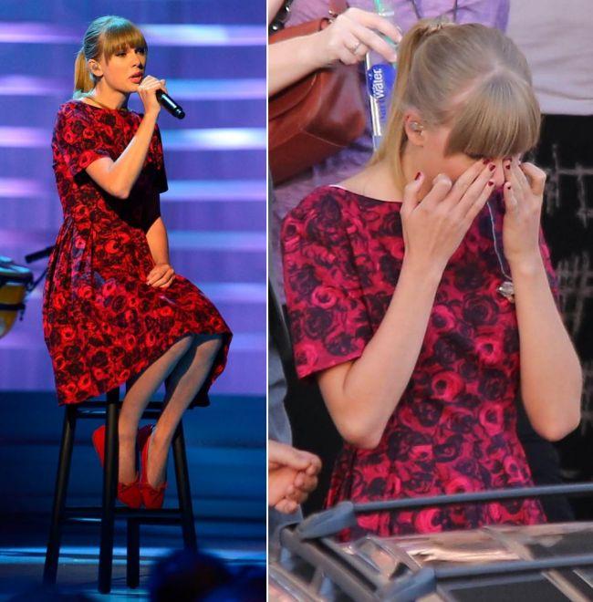 Taylor Swift a izbucnit in plans in fata fotografilor. Vezi gestul emotionant cu care a facut milioane de oameni sa verse lacrimi VIDEO