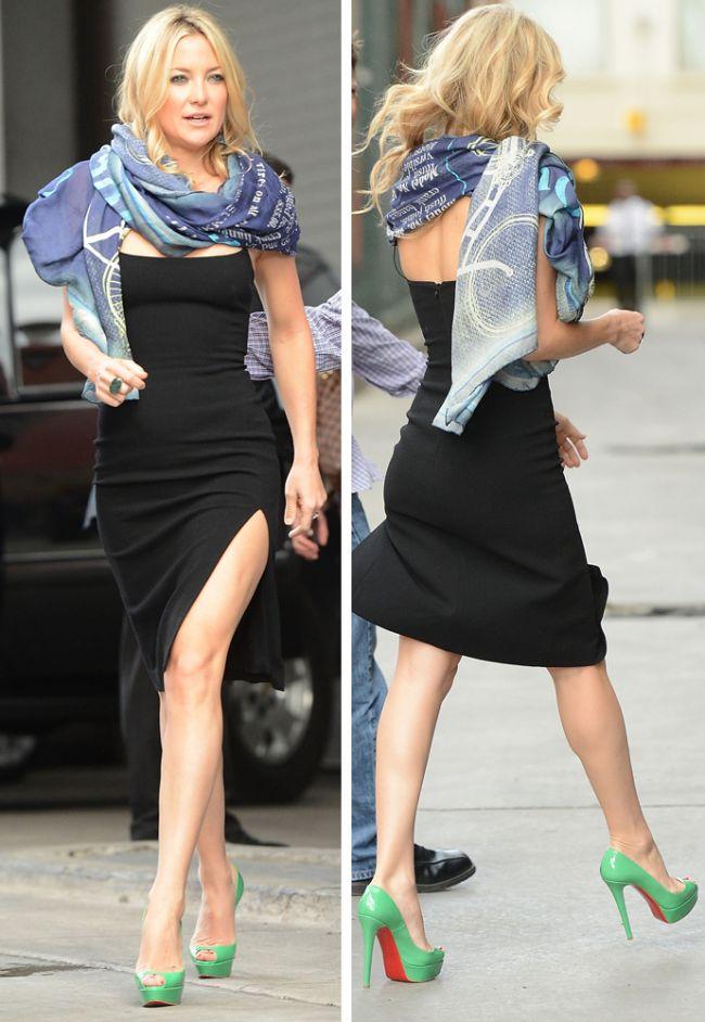 A lucrat 6 ore pe zi sa arate asa. Vezi rochia in care Kate Hudson a facut senzatie la Festivalul de Film de la Toronto