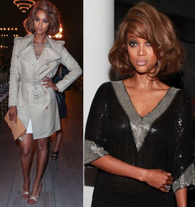Tyra Banks, o aparitie fabuloasa la NY Fashion Week. A eclipsat-o pe Kim Kardashian la prezentarea Marchesa