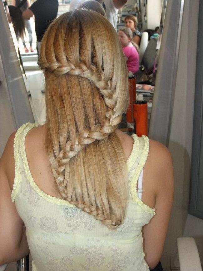 Плетение кос на длинные волосы для женщин