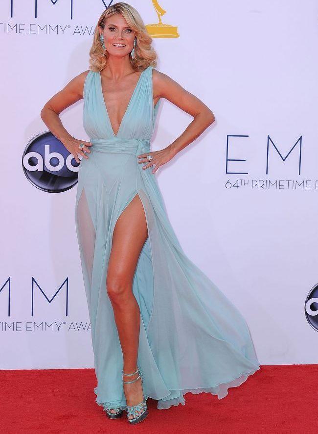 Fashion Police: Heidi Klum aparitie sexy sau de prost gust la Premiile Emmy?