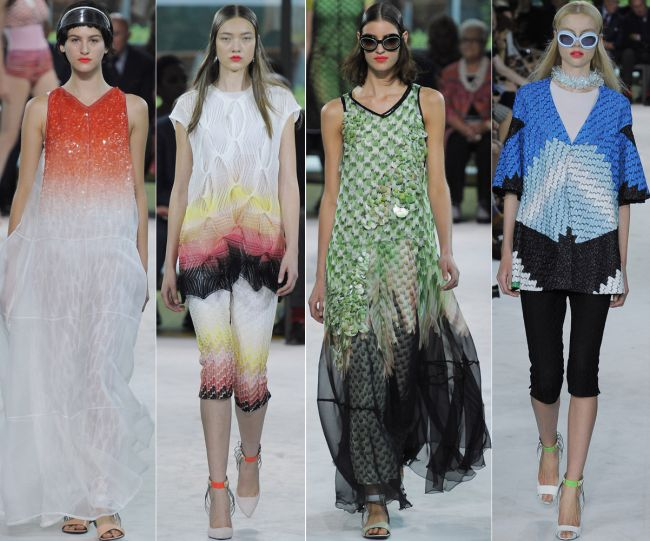 Milano Fashion Week: Missoni primavara/vara 2013 ndash; o colectie science fiction colorata