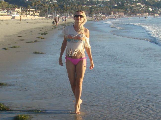 Jojo este mandra de corpul ei dupa nastere. Iata cum arata in costum de baie in vacanta din America